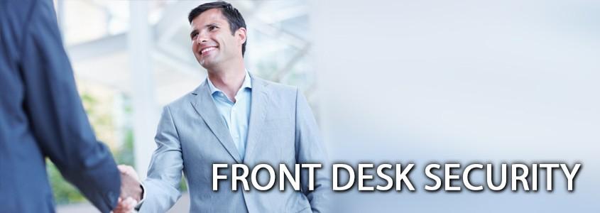 Centurion Security Front Desk Security